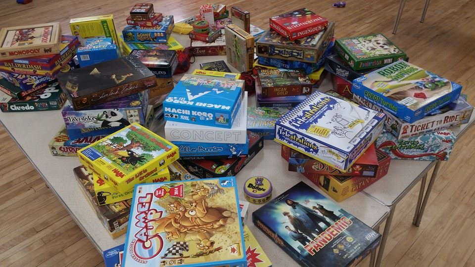 Board games in Bedford