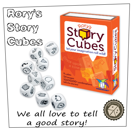 Rory's story cubes School Activities Board Game creative writing Story
