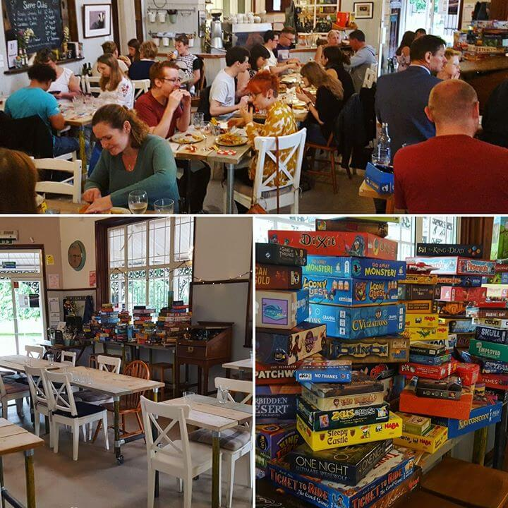 pavilion  at the park bedford ready steady roll board games