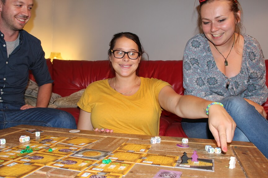 Escape from Cursed Temple board game