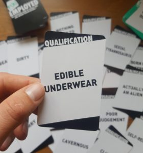 funemployed funny card game cards