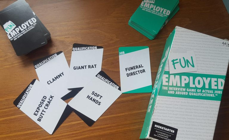 Funemployed funny card game